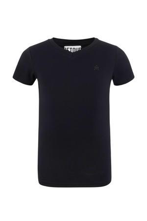 T-shirt Sean zwart