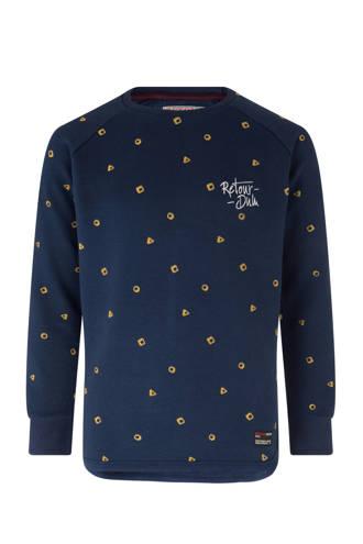 sweater Aurelio donkerblauw