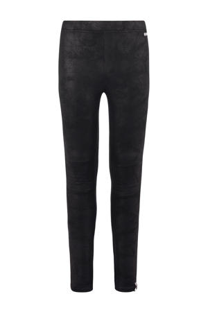 coated legging Karli zwart