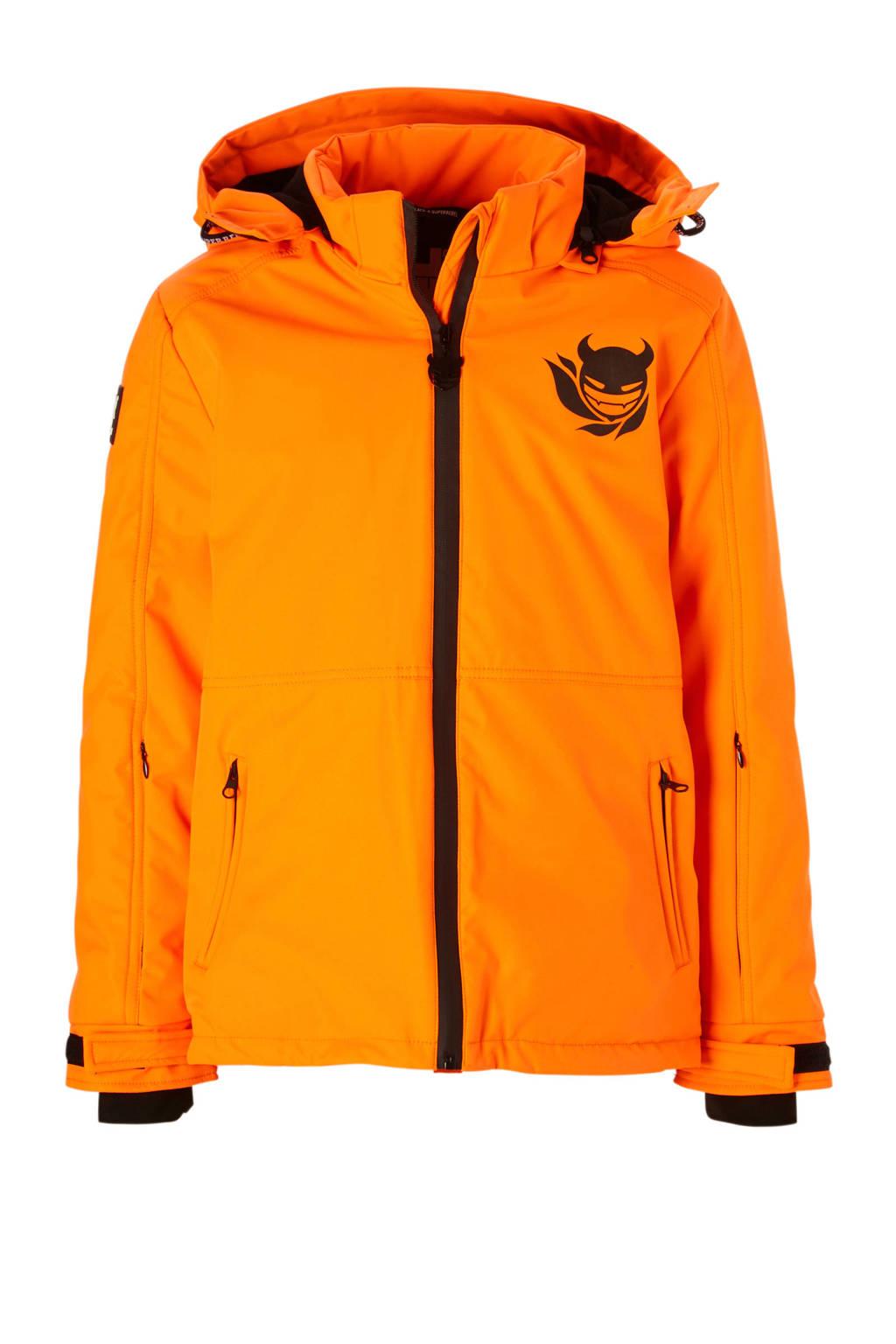 Super Rebel ski-jack oranje, Oranje