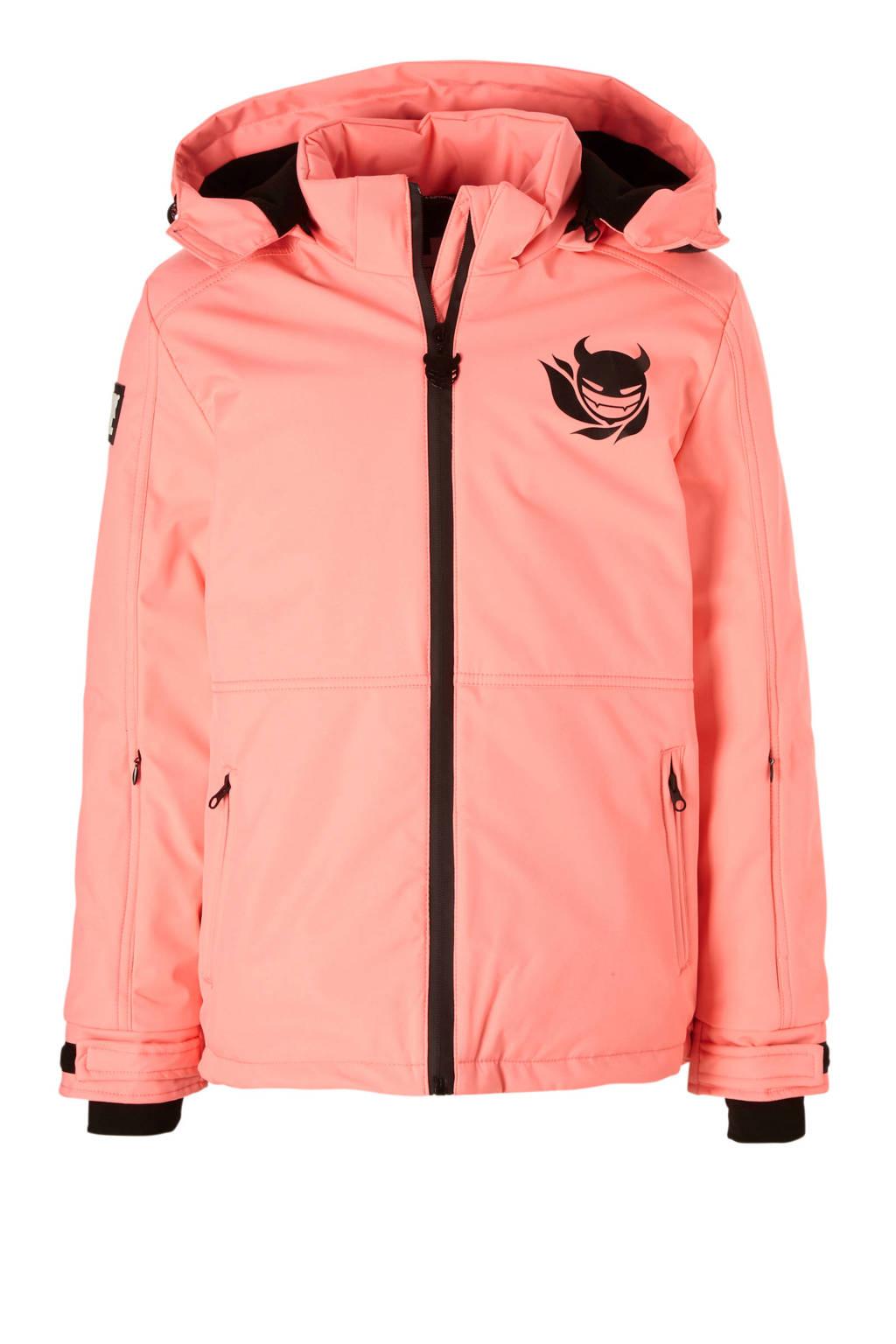 Super Rebel ski-jack roze, Roze