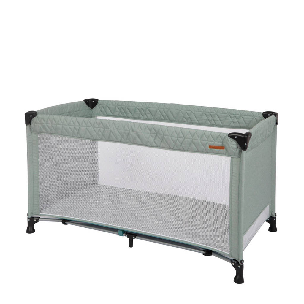 Little Dutch campingbed mintgroen, Mintgroen