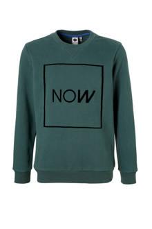 Hi sweater Rowen donkergroen