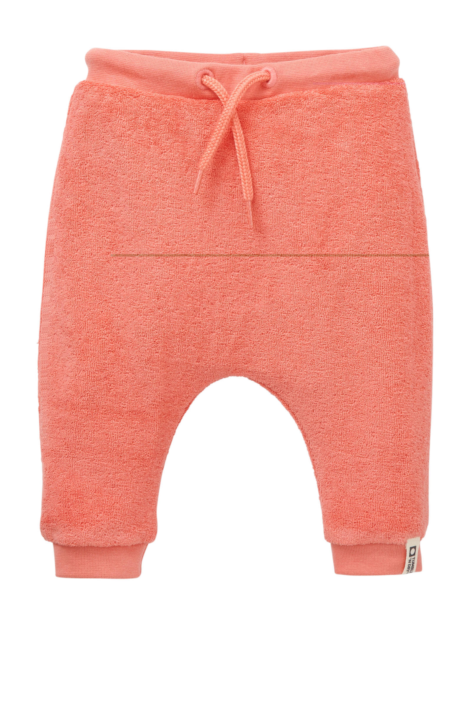 Tumble 'n Dry Zero newborn badstof sweatpants Zafia zalm (meisjes)