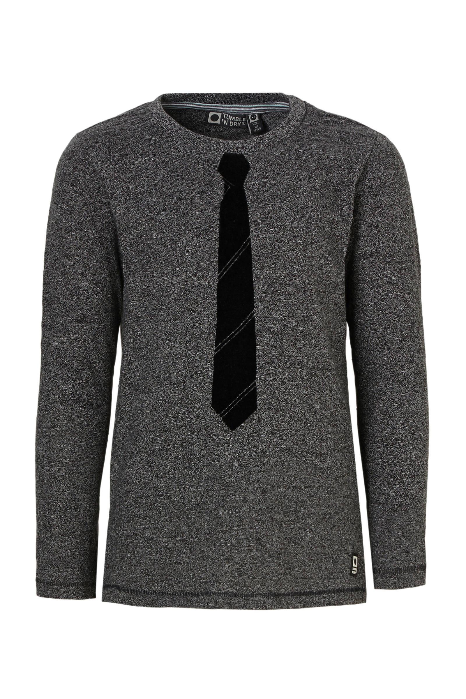 Tumble 'n Dry Mid T-shirt Othon met lange mouwen