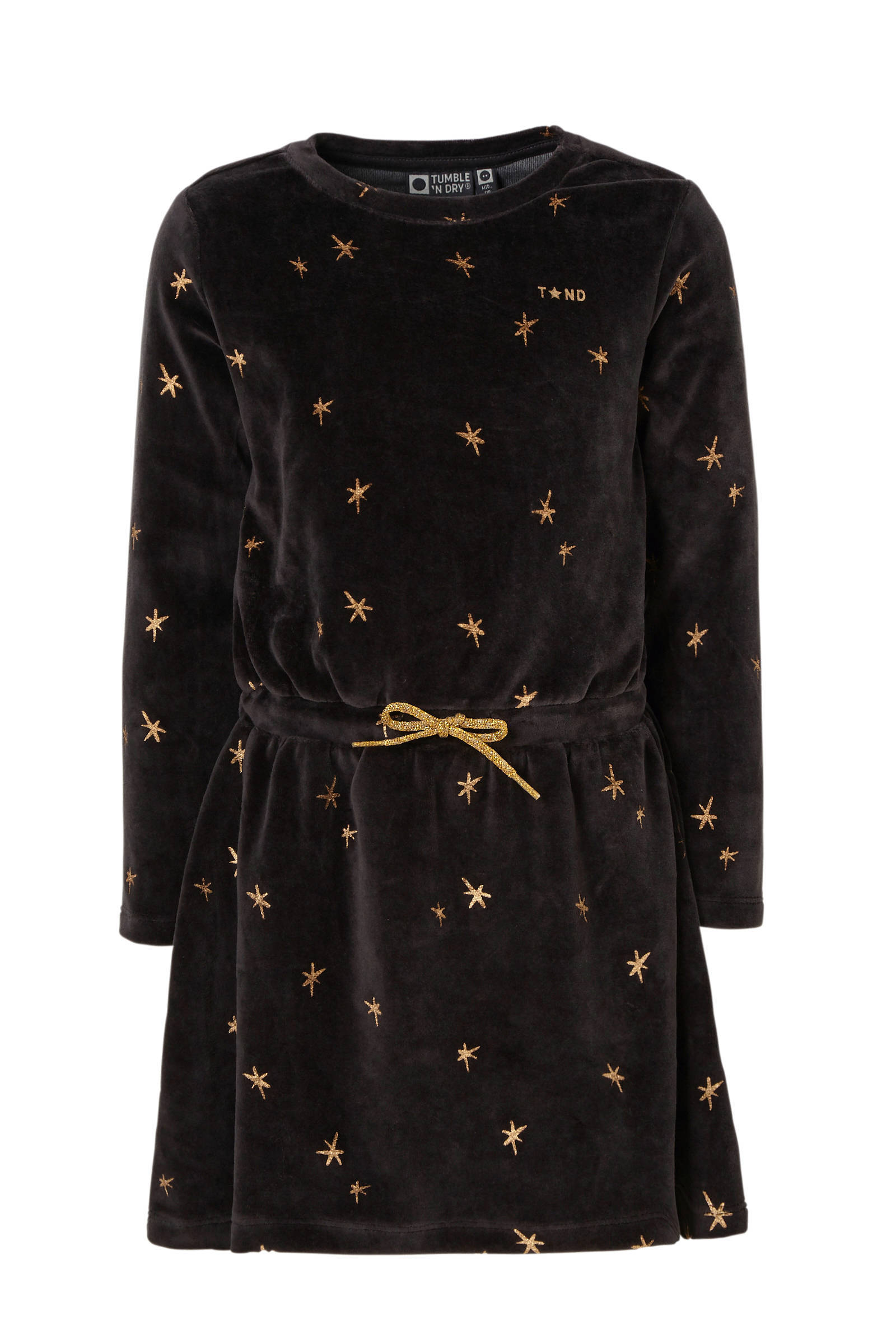 Tumble 'n Dry Mid jurk Verna van fluweel