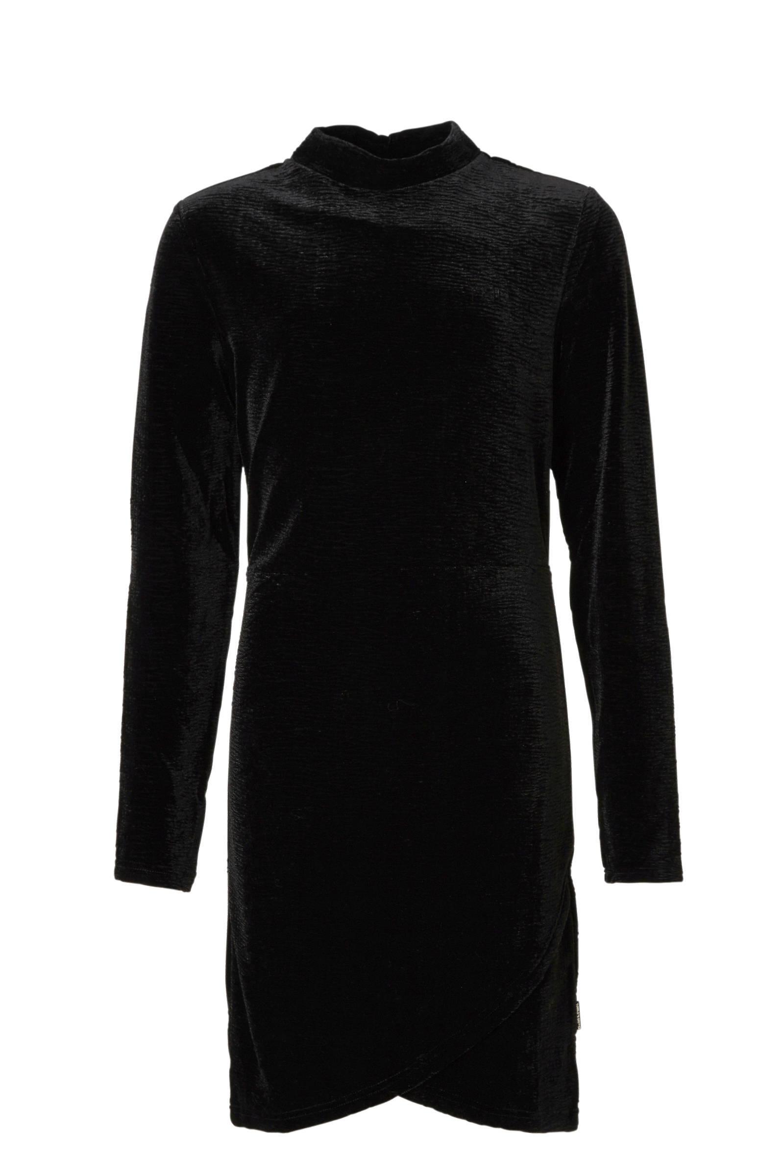 Tumble 'n Dry Hi jurk Winterrose van fluweel