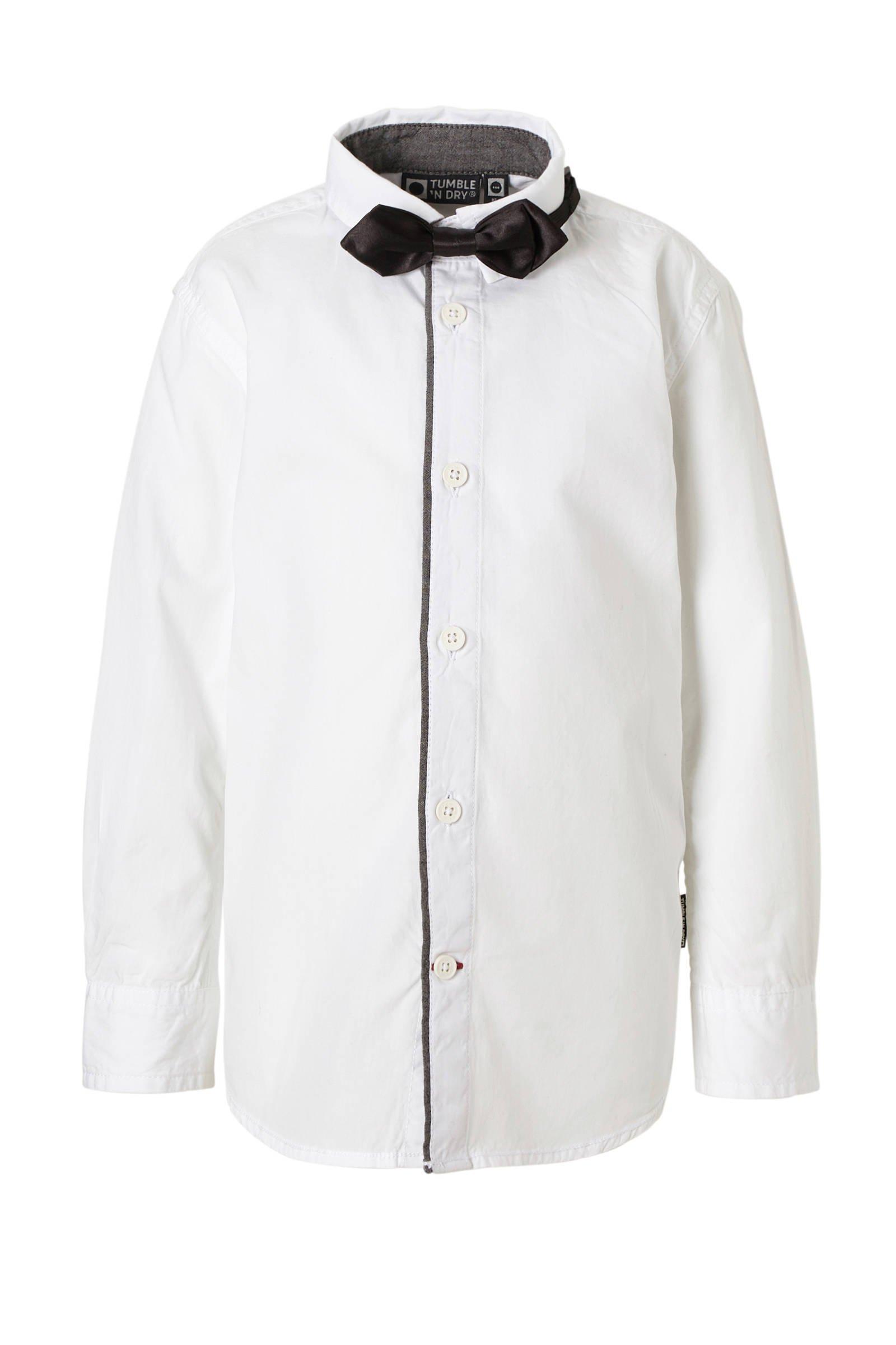 Tumble 'n Dry Mid overhemd Randal met strik (jongens)