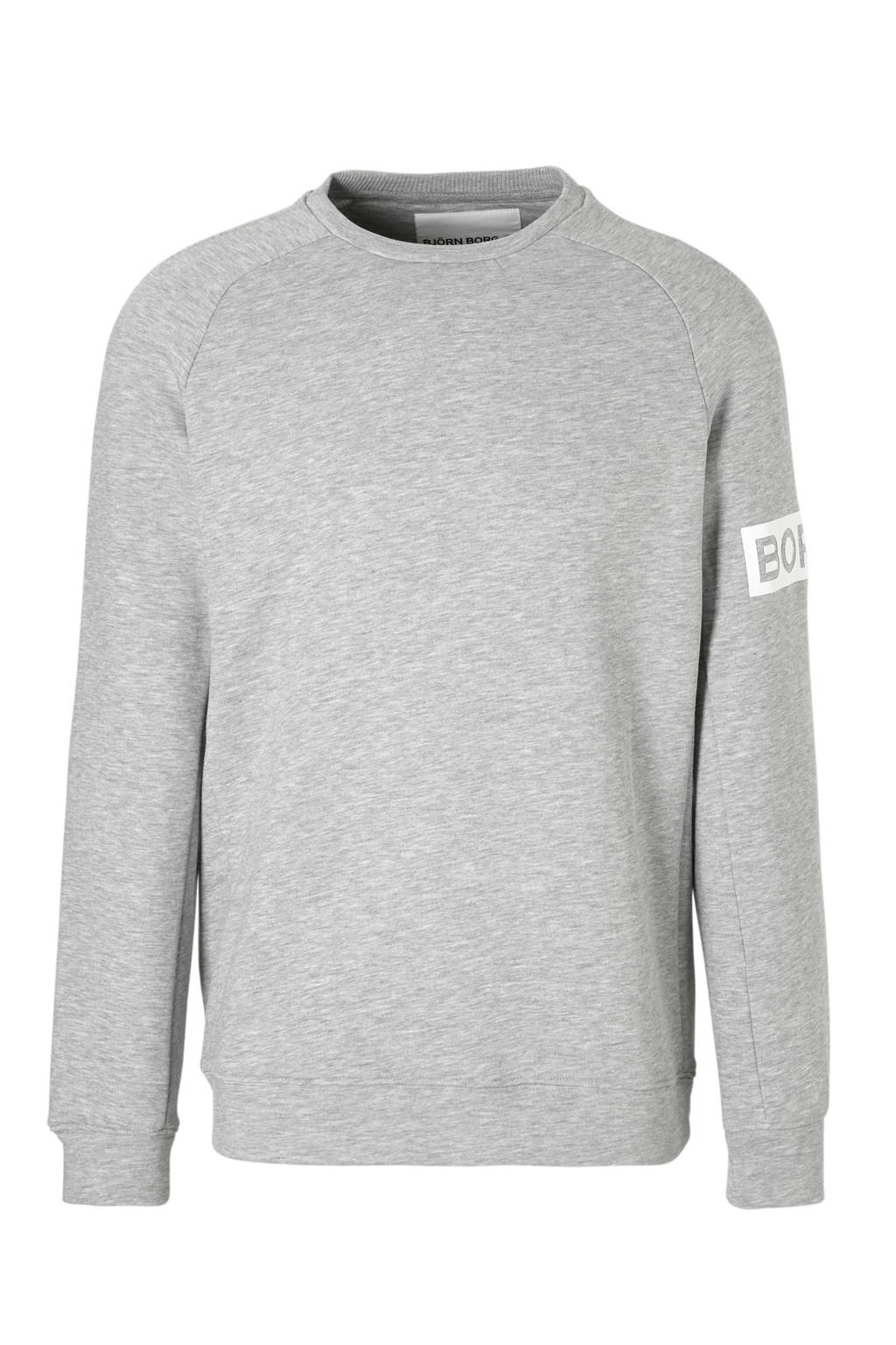 Björn Borg   Sportsweater grijs, Grijs/wit