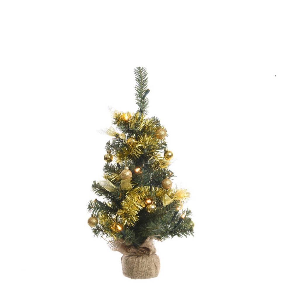 Decoris Mini Kerstboom Goud 60cm Wehkamp