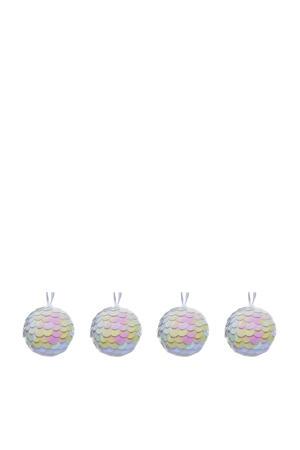kerstballen (Ø8 cm) (set van 4)