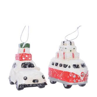 kersthanger auto (set van 2)