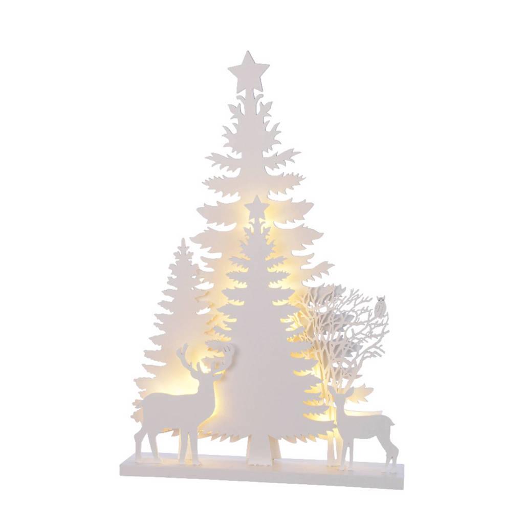 Lumineo decoratie kerstboom LED (40 cm), Wit