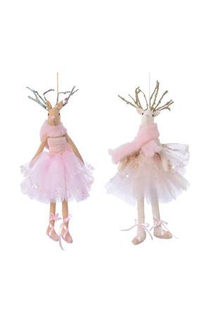 kersthanger balletfiguurtje (22 cm) (set van 2)