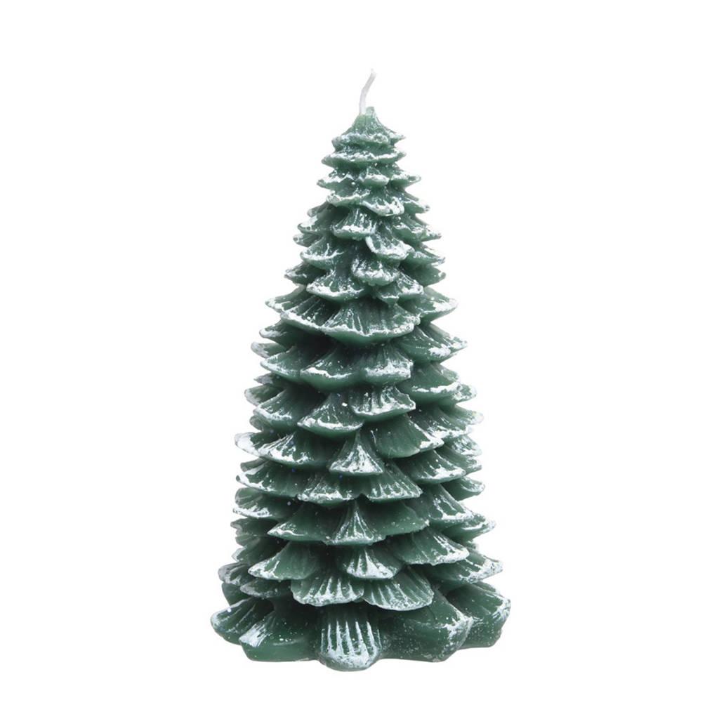 Decoris kaars kerstboom (18 cm), Ø9,5x18 cm