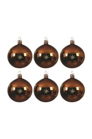 kerstballen (Ø8 cm) (set van 6)