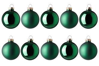 kerstballen (Ø6 cm) (set van 10)