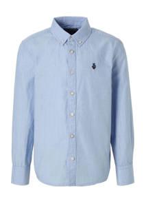 C&A Here & There regular fit overhemd lichtblauw (jongens)