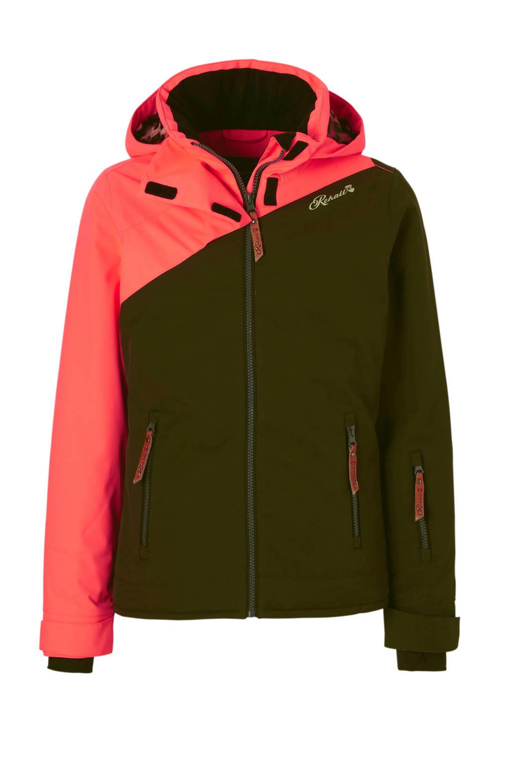 Rehall ski jack groen, Donkergroen