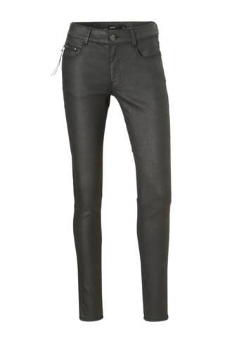 coated skinny broek