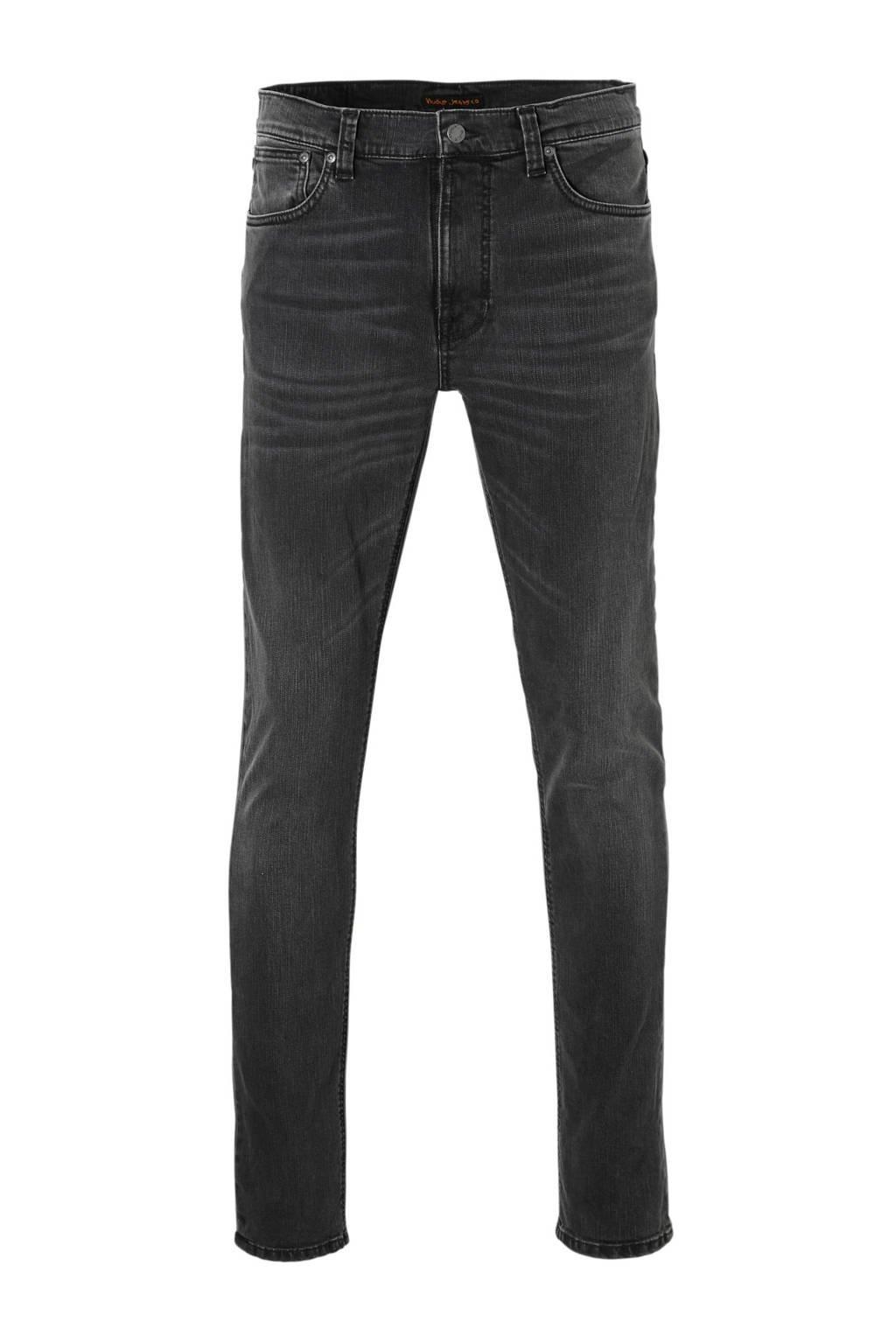 Nudie Jeans Lean Dean slim fit jeans, Mono grey