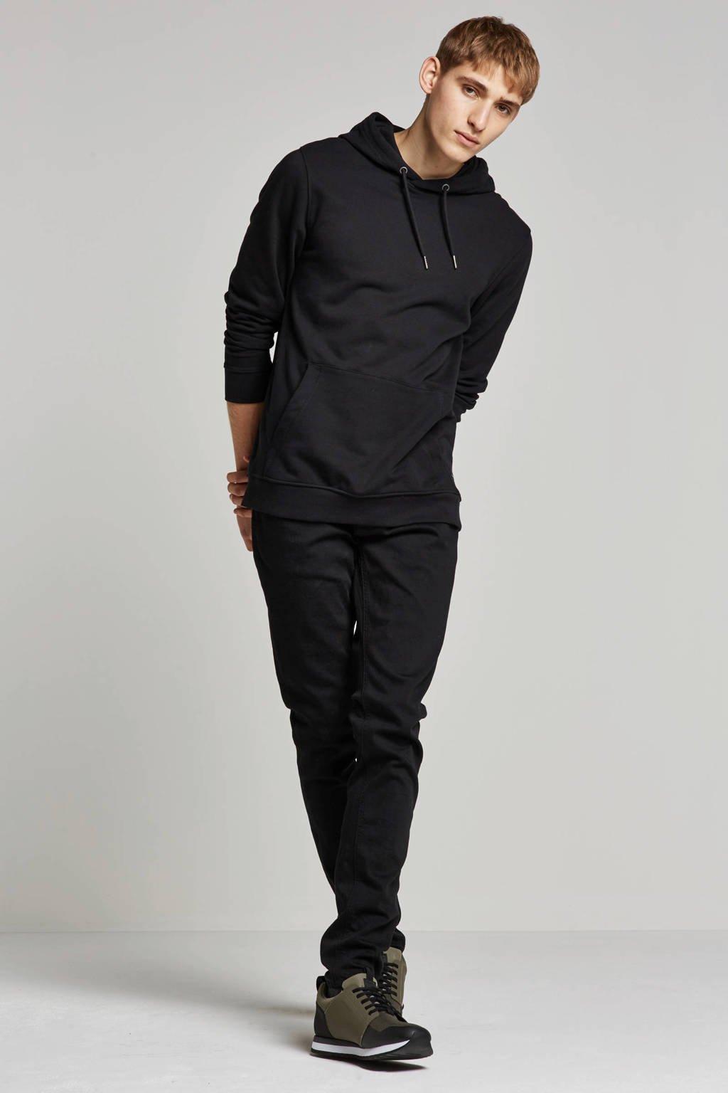 Nudie Jeans  regular Tight Terry skinny fit jeans, Zwart