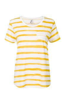 Regulier T-shirt gestreept