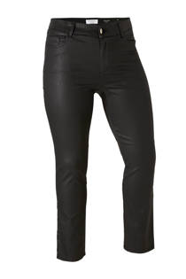 Violeta by Mango coated slim fit broek (dames)