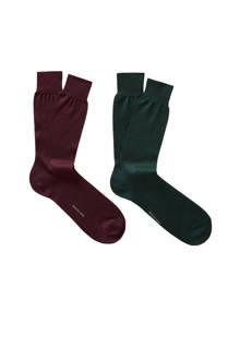 sokken donkergroen