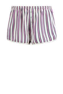 pyjamashort met strepen