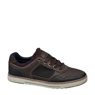 vanHaren Memphis One  sneakers bruin