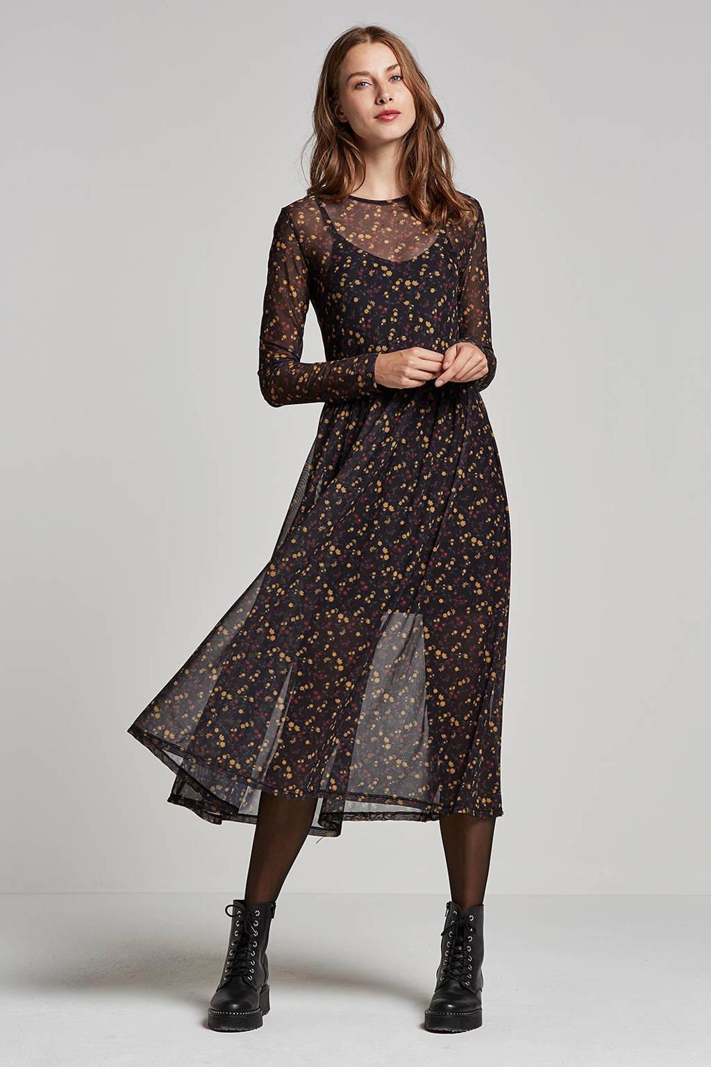 Catwalk Junkie jurk, Zwart