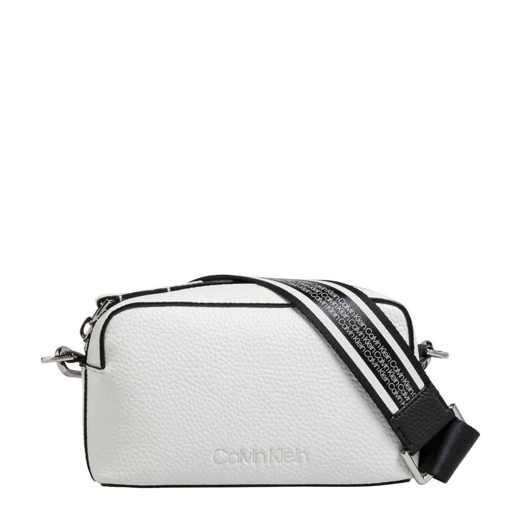 Calvin Klein  crossbody tas Race, Wit/zwart