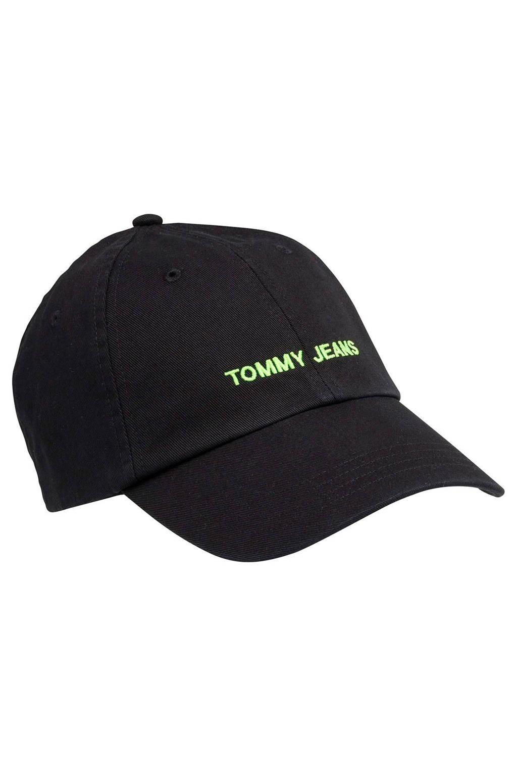 Tommy Jeans pet TJU Sport Cap, Zwart