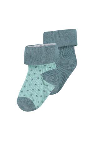 newborn baby sokken - 2 paar