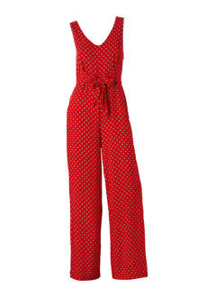 Casual all over print jumpsuit