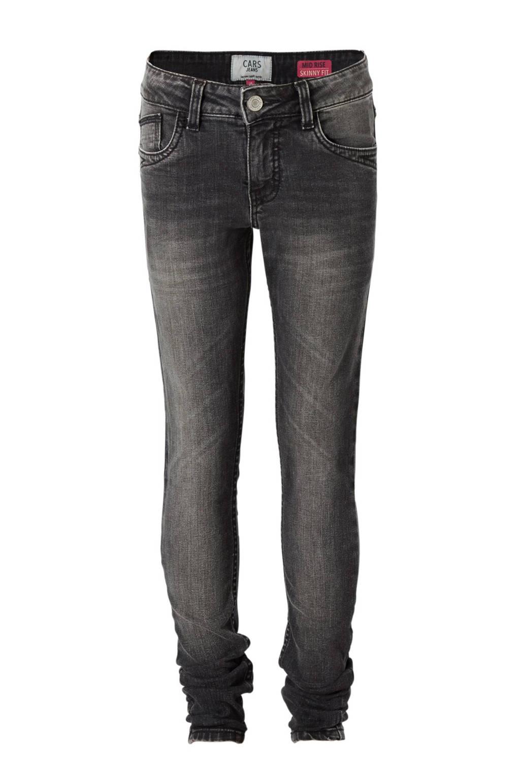 Cars skinny jeans Moreen zwart, Zwart