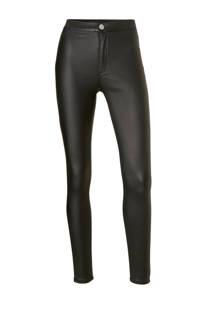 Lost Ink high waist skinny fit coated jegging (dames)