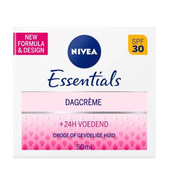 Essentials verzachtende dagcrème droge/gev huid SPF30
