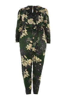 Plus jumpsuit met bloemenprint