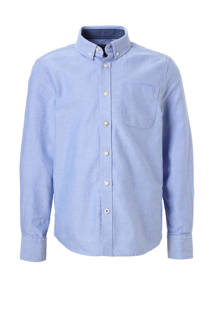 C&A Here & There overhemd lichtblauw (jongens)