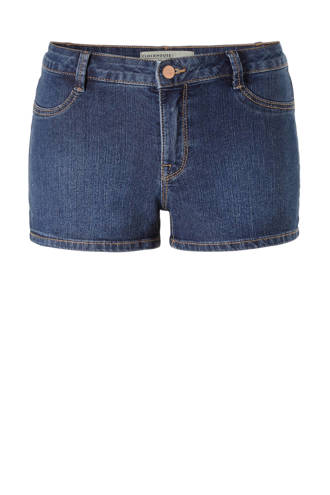 Clockhouse jeans short donkerblauw
