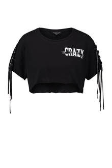 crop top zwart