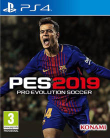 Pro evolution soccer 2019 (PlayStation 4)