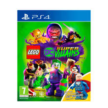 Lego DC Supervillains + Toy (PlayStation 4)