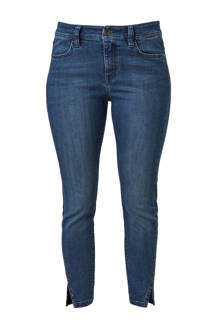 curvy fit jeans donkerblauw