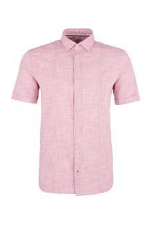 gestreepte overhemd lichtroze