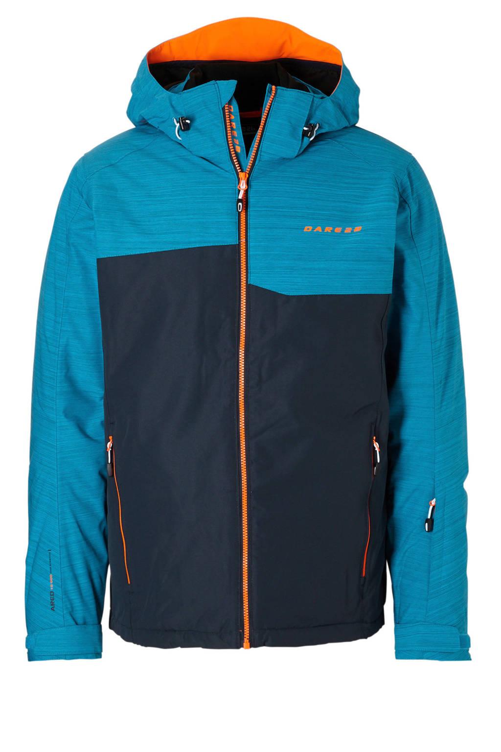 Dare2B ski-jack, Donkerblauw/turquioise