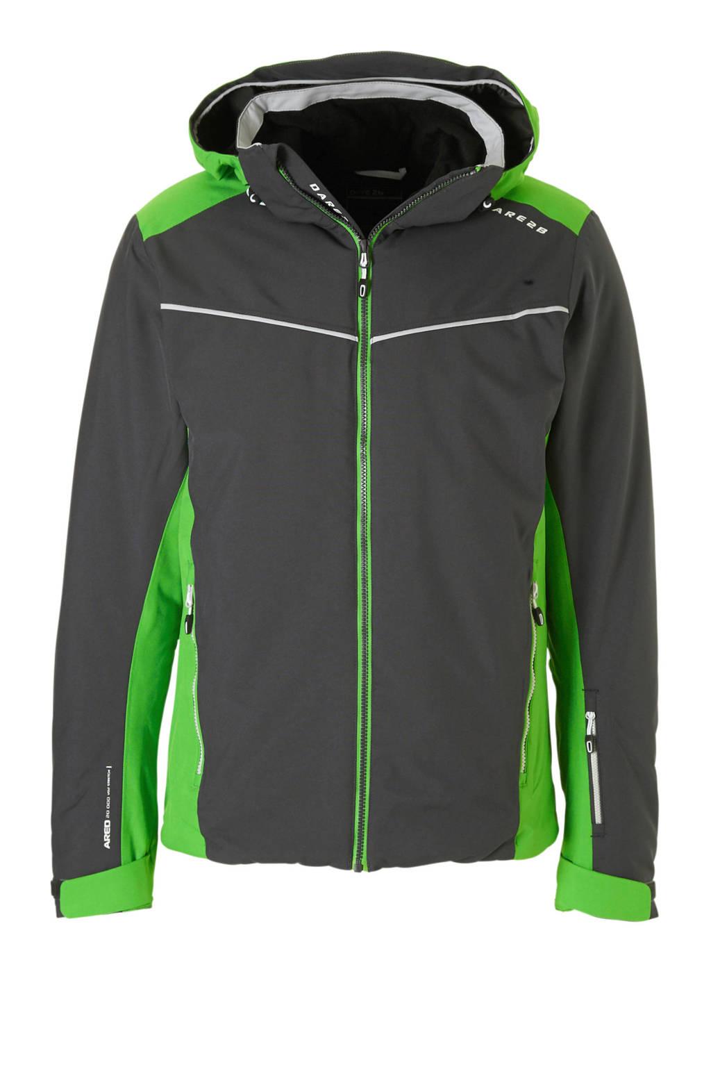 Dare2B ski-jack, Antraciet/groen