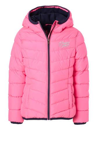 winterjas Tjessa roze